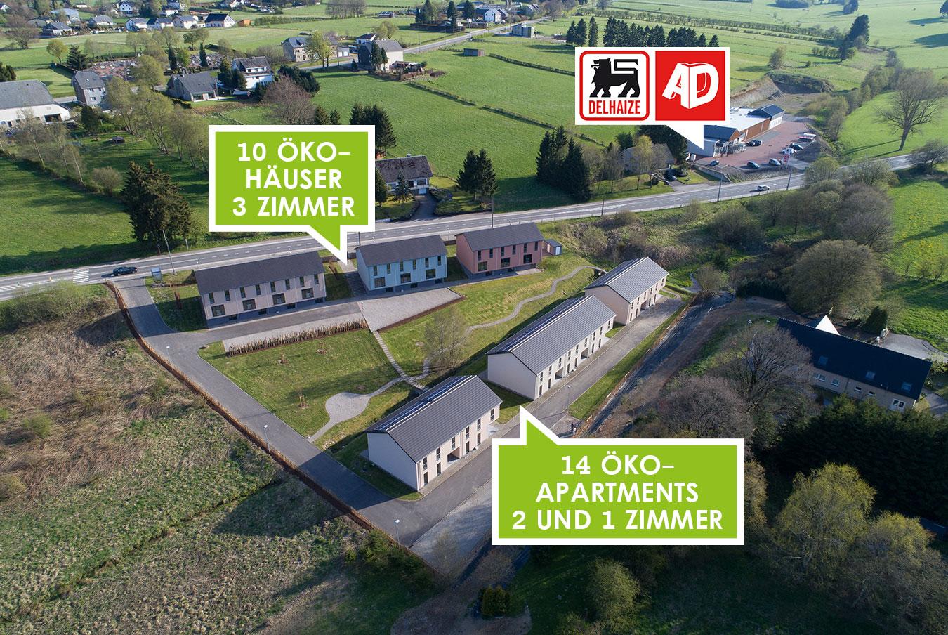 Häuser und appartementen Domaine Osterbach